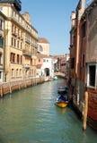 Één van de oude huizen in Venetië, Italië Stock Foto's