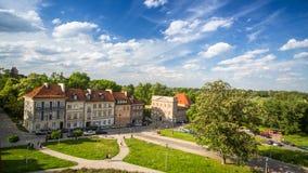 Één van de Oude stad van straatwarshau (staar Miasto) is het oudste historische district van Warshau (13de eeuw) Royalty-vrije Stock Foto's