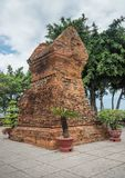 Één van de torens van de complexe tempel Royalty-vrije Stock Afbeelding