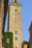 Één van de torens van San Gimignano Royalty-vrije Stock Foto