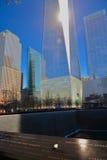 Één van de wereldhandelscentrum of Vrijheid toren Stock Fotografie