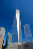 Één van de wereldhandelscentrum of Vrijheid toren Royalty-vrije Stock Foto's