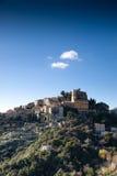 Één van Dorp dichtbij Tne Nice. Frankrijk. royalty-vrije stock fotografie