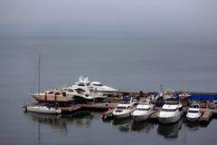 Één van havens in Vladivostok Stock Fotografie
