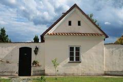 Één van het klooster van gebouwenCamaldolian in Wigry Royalty-vrije Stock Fotografie