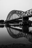 Één van Indonesische brug Stock Afbeelding