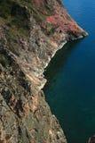Één van kaap op het meer van Baikal Stock Afbeelding