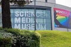 Één van meest bezochte musea van Yorkshire de stock foto's