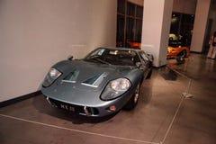 Één van slechts gemaakte 7, dit Teken III van Ford van 1967 GT40 Stock Afbeeldingen