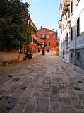 Één van Straat in Venetië, Italië Stock Fotografie