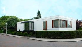 Één Verhaalhuis Nederland Royalty-vrije Stock Afbeeldingen