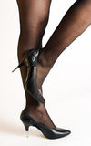 Één voet royalty-vrije stock afbeelding