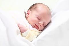 Één week oude baby Royalty-vrije Stock Afbeelding