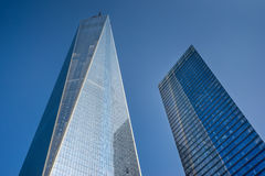 Één wereldhandelscentrum in New York Royalty-vrije Stock Afbeelding