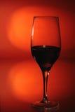 Één wijnstokglas Stock Fotografie