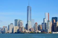 Één World Trade Center Royalty-vrije Stock Foto's