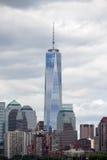 Één World Trade Center Stock Foto