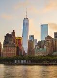 Één World Trade Center Royalty-vrije Stock Fotografie