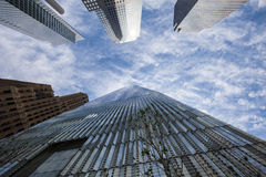 Één World Trade Center Royalty-vrije Stock Afbeeldingen