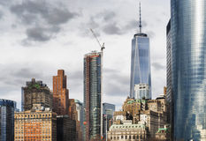 Één World Trade Center Stock Afbeelding