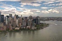 Één World Trade Center in aanbouw Royalty-vrije Stock Afbeeldingen