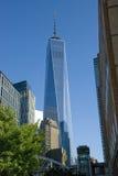 Één World Trade Center - de Stad van New York, Manhattan Stock Foto's