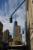 Één World Trade Center, New York stock fotografie
