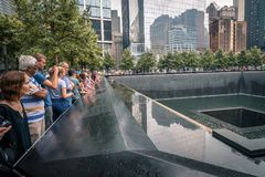 Één World Trade Centergedenkteken Royalty-vrije Stock Fotografie