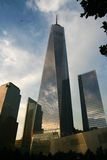 Één WTC New York Stock Fotografie