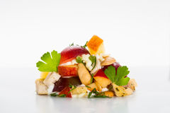Ééndelige salade Stock Fotografie