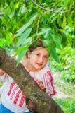 10 éénjarigenmeisje Royalty-vrije Stock Fotografie