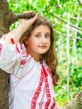 10 éénjarigenmeisje Stock Foto