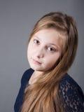 10 éénjarigenmeisje Stock Foto's