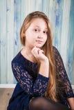 10 éénjarigenmeisje Stock Fotografie