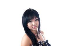 16 éénjarigenmeisje Royalty-vrije Stock Fotografie