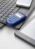 Éénmalig wachtwoord, e-bankwezen Stock Afbeelding