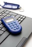 Éénmalig wachtwoord, e-bankwezen Stock Foto's