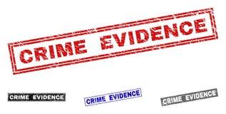 难看的东西罪行见证被抓的长方形水印 皇族释放例证