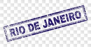 难看的东西里约热内卢长方形邮票 免版税库存图片