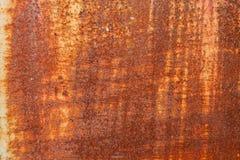 金属墙壁是生锈的背景 免版税库存照片