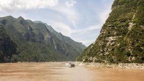 长江中的航船. An big boat on yangtze river Stock Image