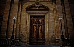 通告教会在比尔古,马耳他 图库摄影