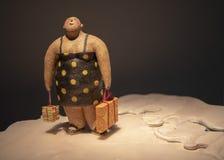 陈列在香港文化博物馆 免版税库存图片