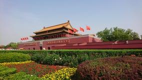 É-€ do ‰ do å¤©å® de Tiananmen Fotografia de Stock