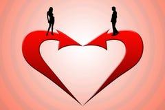 É amor? Fotografia de Stock Royalty Free