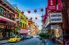 É bairro chinês Imagens de Stock