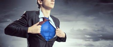 É herói do corporaçõ Imagens de Stock