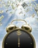 É hora de ganhar o dinheiro Fotografia de Stock Royalty Free