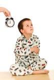 É horas de dormir Imagem de Stock Royalty Free