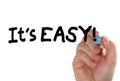É marcador fácil da mão Fotografia de Stock